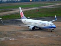 Compagnies aériennes de la Chine images libres de droits