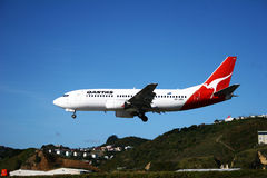 Compagnies aériennes de Qantas Photos libres de droits