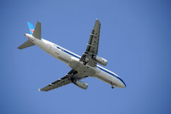 Compagnies aériennes méridionales de la Chine images libres de droits