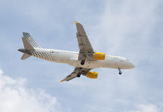 Compagnies aériennes de Vueling Photos stock
