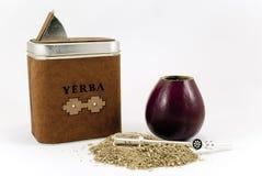 Compagnon de Yerba Photo libre de droits