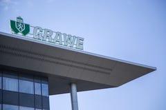 CompanBELGRADE de Grawe, SERBIA foto de archivo