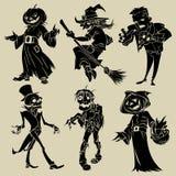 Companhia de Halloween Fotografia de Stock