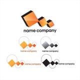 Companhia do logotipo Imagens de Stock