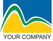 Companhia do logotipo de Rio Foto de Stock Royalty Free