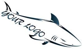 A companhia do tubarão Foto de Stock