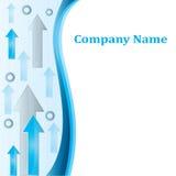 Company_arrows Foto de Stock Royalty Free