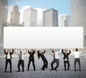 Company banner Stock Image
