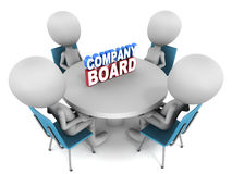 Company board Stock Photography