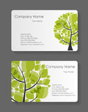 Company Business Card Vector Illustration Stock Images
