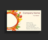 Company Business Card Vector Illustration Royalty Free Stock Images