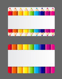 Company Business Card Vector Illustration Stock Photography