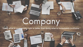 Company Business Collaboration Corporate Team Concept Stock Image