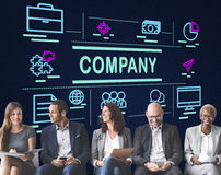Company Business Collaboration Ideas Teamwork Concept Stock Image