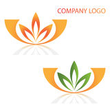 Company business logo. Company logo design isolated on white background Stock Images