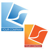 Company business logo. Company logo, in white background Royalty Free Stock Images