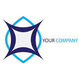 Company business logo. Company logo on white background Royalty Free Stock Photography