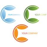 Company business logo. Company logo on white background Stock Images