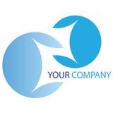 Company business logo. Company logo on white background Stock Image