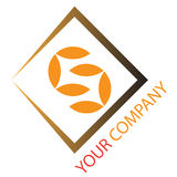 Company business logo. Company logo on white background Royalty Free Stock Images