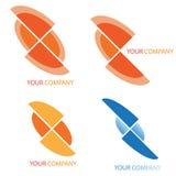 Company business logo. On white background Royalty Free Stock Image