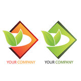 Company business logo - Investing. Company business logo on white background Stock Photo
