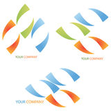 Company business logo - Investment. Company business logo on white background Royalty Free Stock Photo