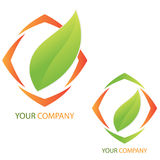 Company business logo - Investment. Company business logo on white background Royalty Free Stock Image