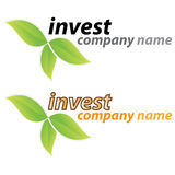 Company business logo - Investment Royalty Free Stock Images