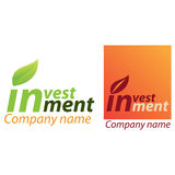 Company business logo - Investment Royalty Free Stock Photography