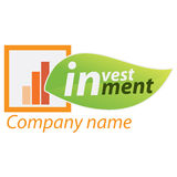 Company business logo - Investment Royalty Free Stock Photos