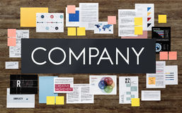 Company Business Teamwork Corporate Collaboration Concept Stock Photo