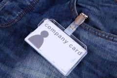 Company card Stock Image