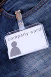 Company card Royalty Free Stock Images