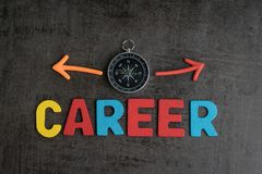 Free Company Career Path Opportunities Concept By Colorful Wooden Alp Stock Images - 110889074