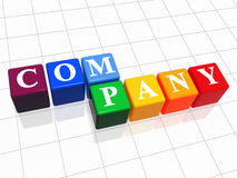 Company in colour 2 Royalty Free Stock Image