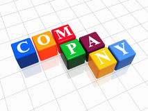 Company in colour Stock Photography