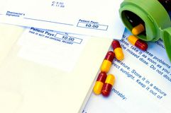 Company Drug Plan Capsules Royalty Free Stock Images