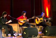 Company flamenco Nino de Pura Royalty Free Stock Photos