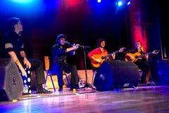 Company flamenco Nino de Pura Royalty Free Stock Photo