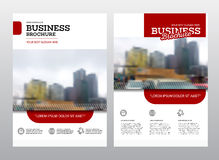 Company flyer vector illustration. Stock Images