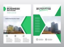 Company flyer vector illustration. Royalty Free Stock Photos