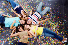 Company of friends Royalty Free Stock Photography