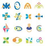 Company_icons_symbols Royalty Free Stock Photo
