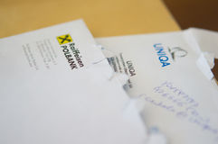 Company letters Stock Photos