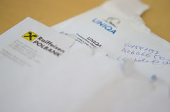 Company letters Stock Image