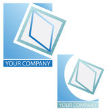 Company  logo. Company logo, in white background Royalty Free Stock Photography