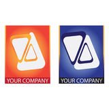 Company  logo. Company logo on white background Royalty Free Stock Photo