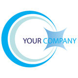Company  logo. Company logo on white background Stock Photography