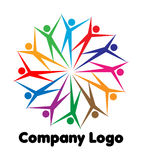 Company logo Royalty Free Stock Photos